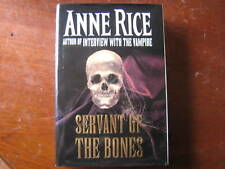 Anne Rice servant of the bones HC/DJ 1st ed