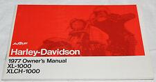 Original Harley Davidson Sportster Owners Manual 1977 NOS 99466-78 (52)