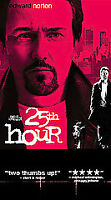 25th Hour (VHS, 2003, French Language)