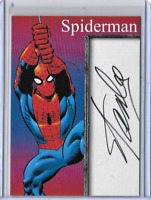 Spiderman Super Hero Creator Stan Lee Facsimile Auto Card