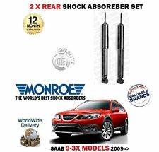 FOR SAAB 9-3X 1.9 2.0 TURBO 2009-> 2x REAR SHOCK ABSORBER SHOCKER STRUT SET