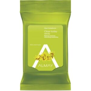 Almay Clear Complexion Makeup Remover Towelettes 25 Count