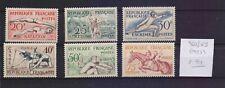 !  France  1953.  Stamp. YT#960/965. €90.00 !