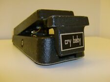 RARO vintage CRY BABY STEREO Fuzz Wah Wah Thomas 9-3701 pedale chitarra anni '70