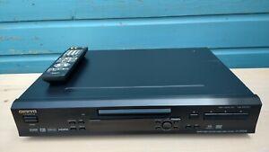 Onkyo DV-SP504E Super Audio CD Player. SACD, VCD, DVD A, DVD + Remote