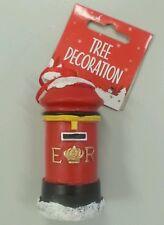 Christmas Tree Decoration Post Box - Christbaumschmuck London Post Box