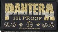 Pantera Patch Whiskey Label Woven Patch
