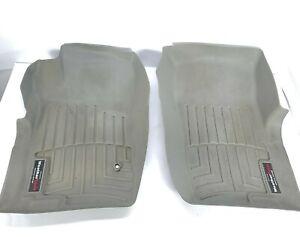 WeatherTech FloorLiner Ford Explorer Merc. Mountaineer 2002-2005 Grey Front Rear