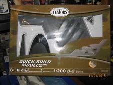 TESTORS 1/200 SCALE B-2 SPIRIT QUICK BUILD PLASTIC MODEL-FREE SHIPPING
