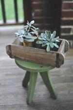 Vintage Brick Mold,Wooden Storage Tool Box Wood Shelf Antique Crate Case 9896