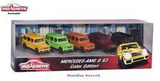 Majorette Color Edition 212053165 - Mercedes-AMG G63  5er-Set - Neu & OVP