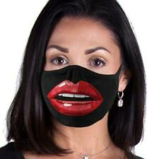 Lips design funny Face Mask Reusable Washable Unisex Face Cover Cloth Usa Seller