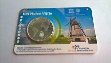 Nederland 2014 Coincard 5 Euro Het Molen Vijfje UNC