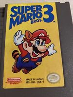 Super Mario Brothers Bros 3 Original NES Nintendo Game Tested Working +Authentic