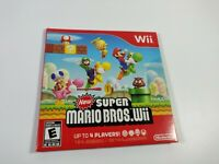New Super Mario Bros Wii Replacement Slip Case Only No Game