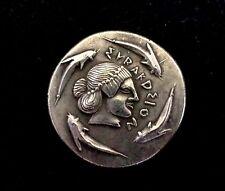GREECE TETRADRACMA SICILIA. Siracusa. Hierón I y Thrasibulo. 474-466 aC, FAKE