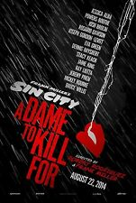 SIN CITY 2: A DAME TO KILL FOR  27 X 40 ORIGINAL 2014 D/S MOVIE POSTER         G