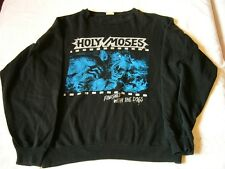 HOLY MOSES – ultra rare old original 1987 FINISHED… Sweatshirt!!!! thrash death