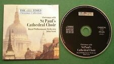 Christmas With St Paul's Cathedral Choir RPO Scott Times Christmas Collection CD