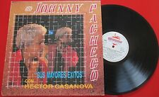 Latin JOHNNY PACHECO *Sus Mayores Exitos Con Hector Casanova* ORIG 1991 Spain LP