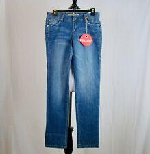 Mudd Denim Jeans Women's Juniors' Medium Wash Straight Leg NEW NWT - Size 5