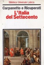 L'Italia del Settecento. Crisi, trasformazioni, lumi, Carpanetto, Ricuperati CC1