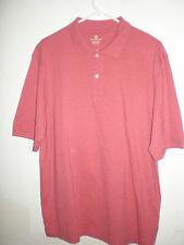 Men's Covington Performance Polo Shirt Short Sleeve - Salmon - Size L (42-44)