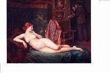 Louis Galliac   La Seance Interrompue  @ 1910  Nude Painting