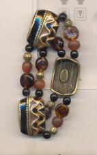 CHICO'S COLORFUL BEADED STRETCH SIGNED   BRACELET