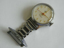 RARE NURSES SMITHS EMPIRE 5 JEWEL FOB WATCH ~ Hand wind & Keeping good time.