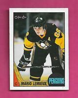 1987-88 OPC # 15 PENGUINS MARIO LEMIEUX NRMT-MT CARD (INV# D3952)