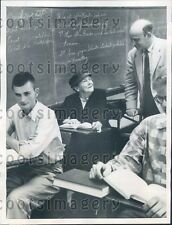1955 Laura Muth 83 Year Old College Student Hershey Junior College Press Photo