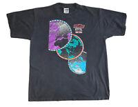 Vtg Mitre International Soccer United Kingdom Men's Sz XL Single Stitch T-Shirt