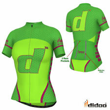 Women's Polyester Race Fit Cycling Jerseys
