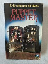 (Blu-ray) PUPPET MASTER (2018 Limited Edition Retro VHS Packaging) UNCUT