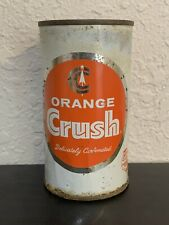 Orange Crush Flat Top Soda Can