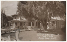 SANTA ROSA Luther Burbank Home RPPC RP Real Photo Postcard CALIFORNIA Sonoma