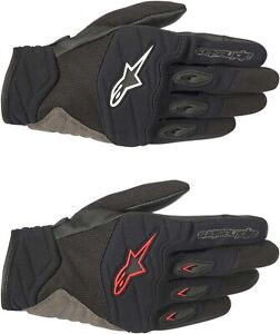 Alpinestars Shore Gloves - Motorcycle Street Riding Mens Textile Touch Screen