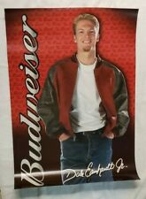 "Nascar's Dale Earnhardt Jr. ""Budweiser"" Advertising Pose 27"" x 19"" Poster"