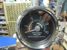 1966-1969 MOPAR DODGE PLYMOUTH CONSOLE VACUUM PERFORMANCE INDICATOR GAUGE
