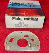 1957 1958 1959 Ford Fairlane Galaxie NOS 8 CYL 292 312 DISTRIBUTOR BREAKER PLATE