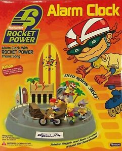 Nickelodeon Rocket Power Animated Alarm Clock With Theme Song