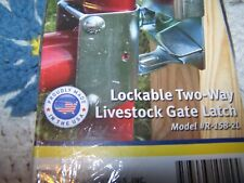 CO-LINE Sure Latch Two-WAY Livestock LOCKABLE GATE LATCH Model R-158-2L