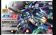 HG Mobile Suit Gundam AGE Gundam AGE-FX 1/144 Scale Color-coded Plastic Model