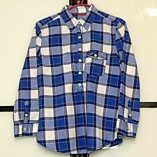 Hollister | Blue Checked Long Sleeve Button Down Shirt | Womens Size XS - 6 to 8