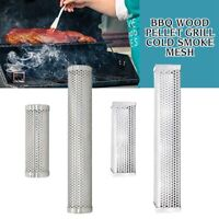 6″/12″ BBQ Smoker Tube Generator  Pellet Grill Cold Smoke Mesh Stainless Steel