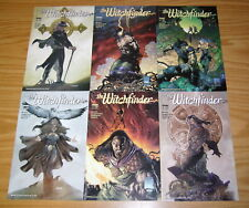 Witchfinder #1-3 VF/NM complete series + (3) variants 1999 IMAGE COMICS liar set
