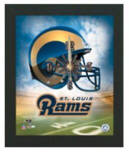 NFL Football Saint Louis Rams Wall Clock