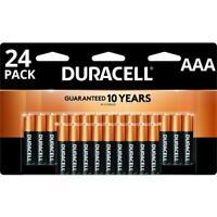 Duracell CopperTop AAA Alkaline Batteries - 24 Pack