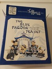 *Vintage* Muffy Collection Blue Pagoda Tea Set